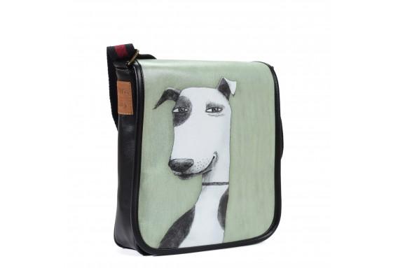 Dog Printed Shoulder Bag