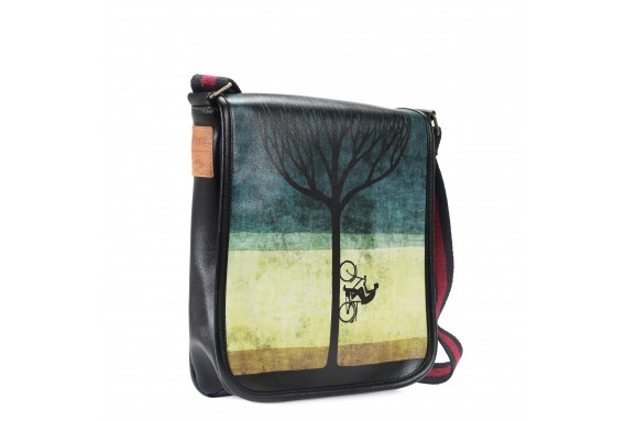 Treebike Printed Shoulder Bag