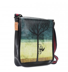 Treebike Printed Shoulder Bag