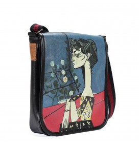 Picasso Printed Shoulder Bag