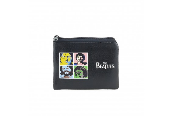 The Beatles Printed Visa & Coins Bag