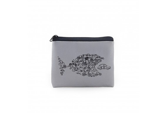 Carfish Printed Visa & Coins Bag