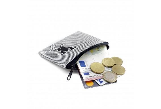 Gorilla Printed Visa & Coins Bag