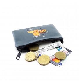 Vespa Printed Visa & Coins Bag