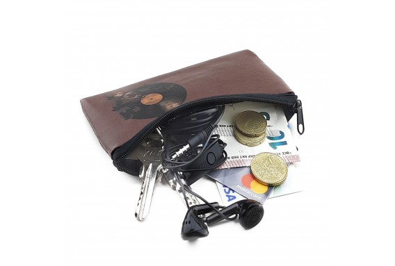 LP Printed Big Coins Bag