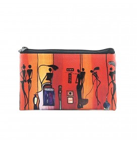 Africa Printed Big Coins Bag