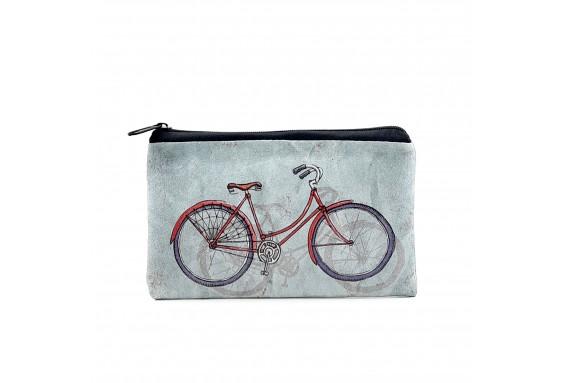Bike Printed Big Coins Bag