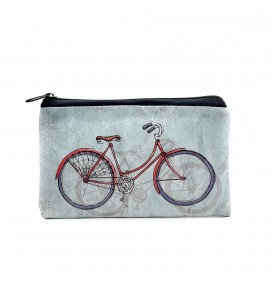 Bike Printed Big Coins Bag