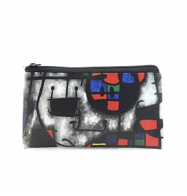 Joan Miro Printed Big Coins Bag