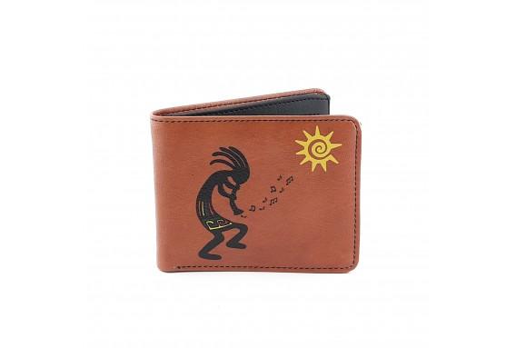 Kokopelli Printed Man Wallet
