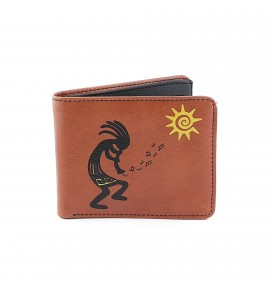 Kokopelli Printed Man Wallet