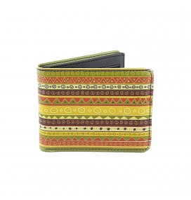 Hippie Printed Man Wallet