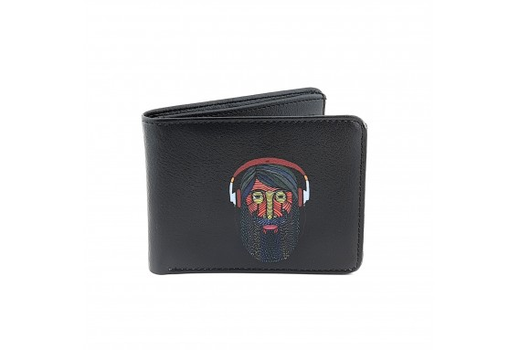 Hipster Printed Man Wallet