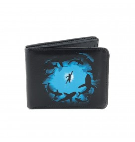 Shark Printed Man Wallet