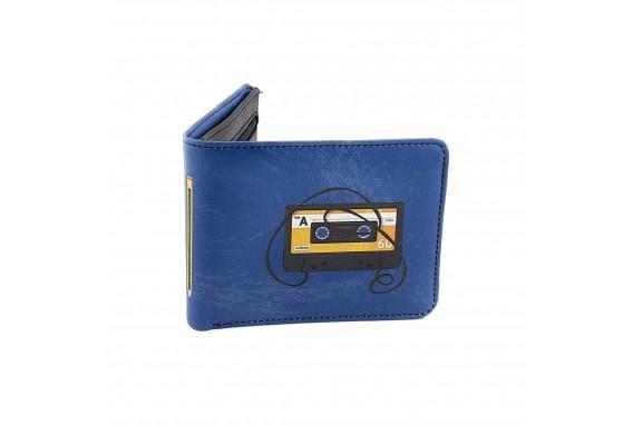 Retro Cassette Printed Man Wallet