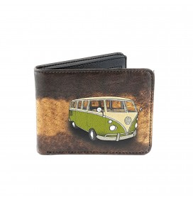 VW Hippie Van Printed Man Wallet