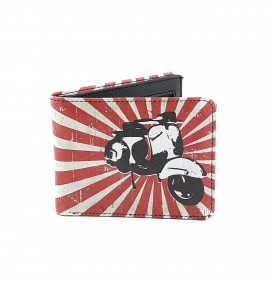 Vespa Printed Man Wallet