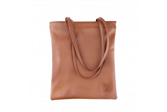 Pera Green Zippered Tote Bag